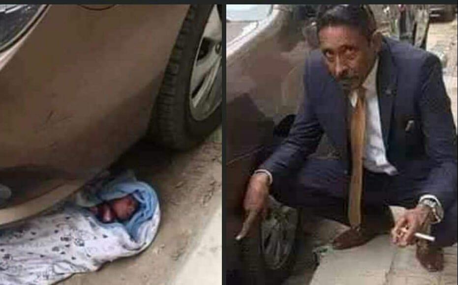 Drame : une femme met son propre bébé sous un véhicule