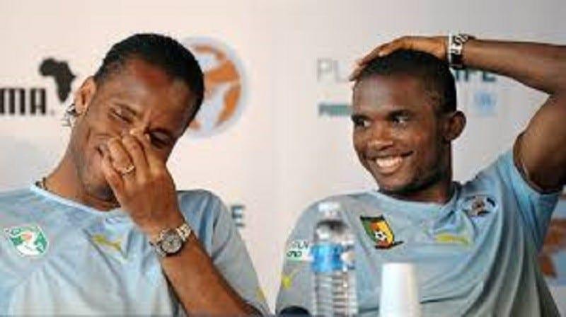 Drogba et Eto'o oubliés dans le classement des meilleurs joueurs du siècle