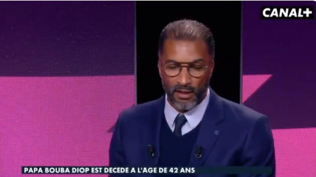 La triste réaction de Habib Béye sur le décès de Pape Bouba Diop (Video)