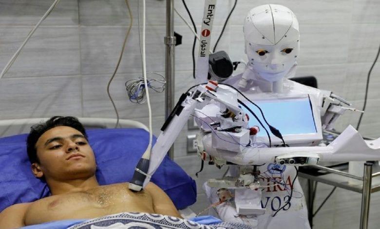 Egypte: un robot capable de détecter le coronavirus subit des essais