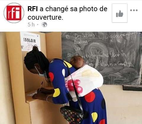 Election présidentielle en Côte d'Ivoire: cette photo de RFI qui passe mal