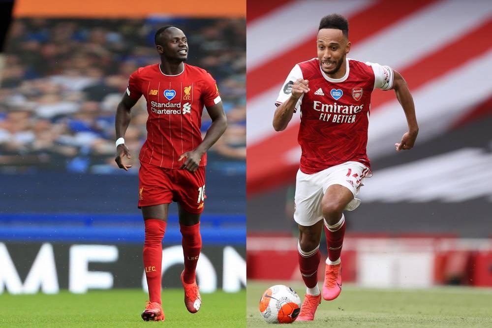 Aubameyang ne tarit pas d'éloges au joueur sénégalais Sadio Mané