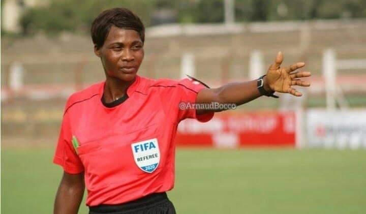 La togolaise amedome Vicentia parmi les 19 arbitres africaines présélectionnées.