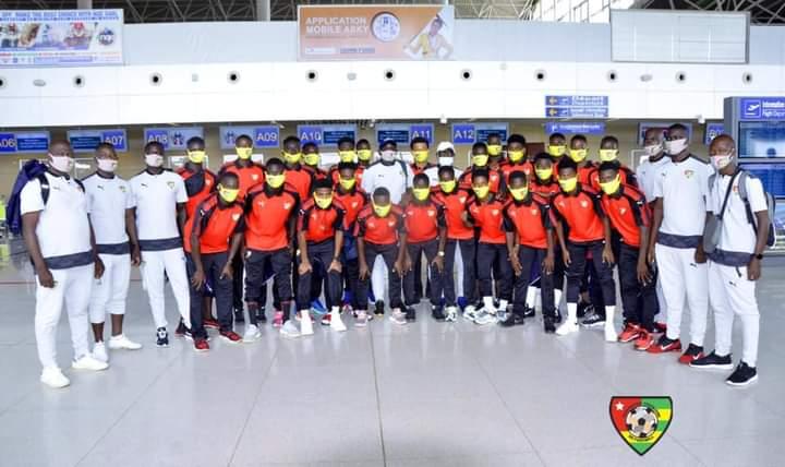 Les U 20 togolais s'envolent pour Maroc.