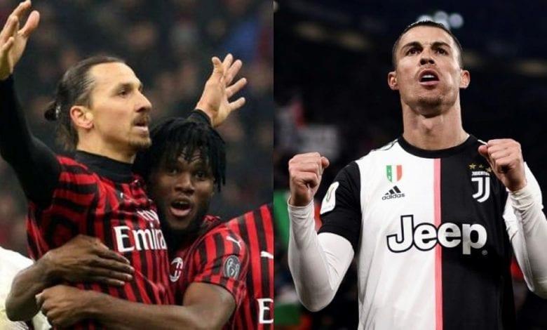 Ibrahimovic et Ronaldo, deux « doyens » qui marchent actuellement sur la Serie A !
