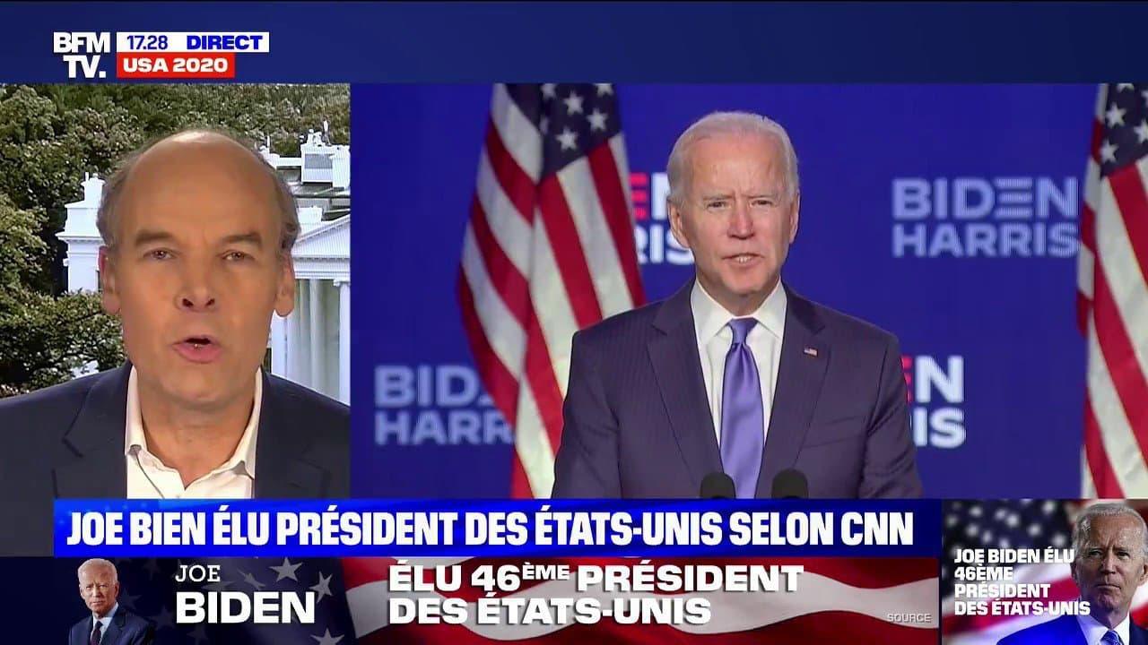 Joe BIDEN elu president des Etats Unis c'est Officiel