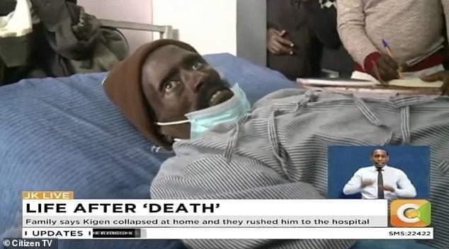 Kenya/ Un homme déclaré mort se réveille et pleure à l'hôpital
