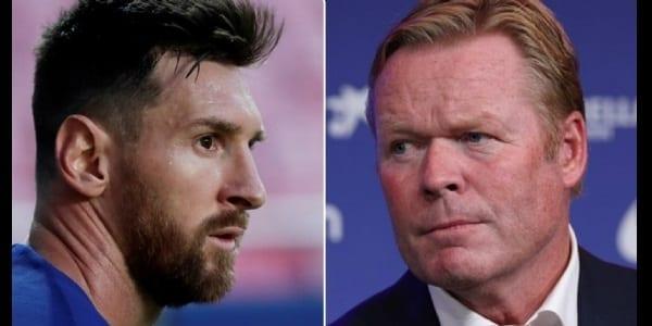 Koeman : « Ce que les dirigeants m'ont dit sur Messi quand je suis arrivé »