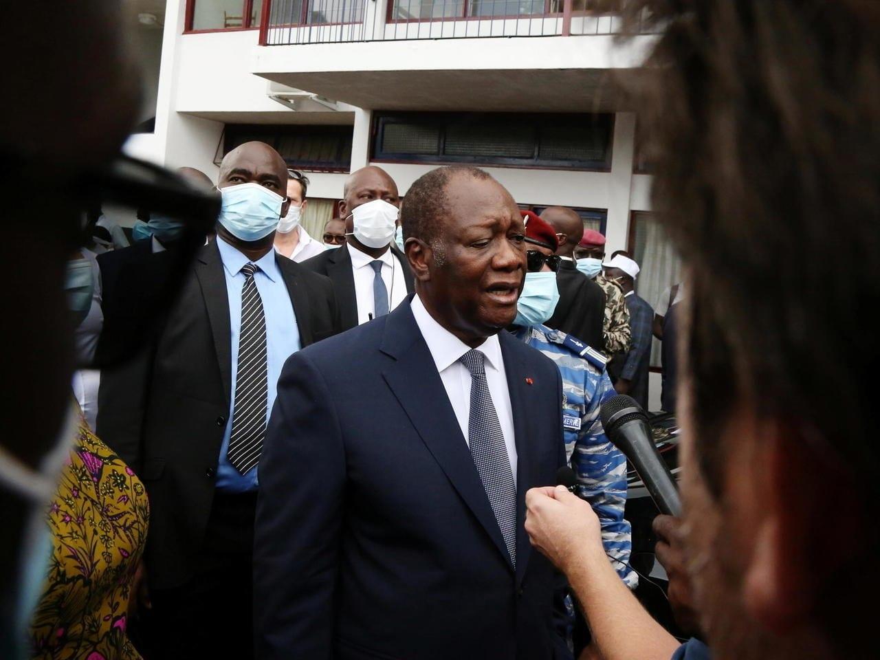 La CEDEAO félicite le président Alassane Ouattara pour sa réélection