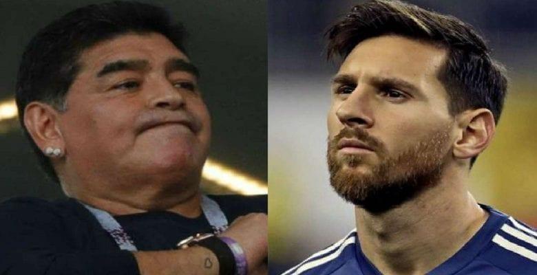 La réaction de Maradona sur les problèmes entre Messi et Barça