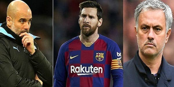 La surprenante déclaration de José Mourinho sur Pep Guardiola et Lionel Messi