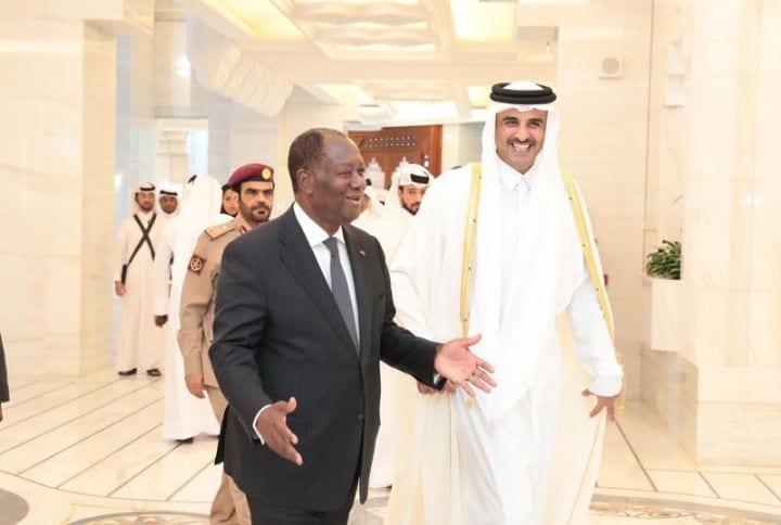 Le Qatar félicite Ouattara pour sa réélection