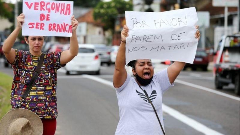 Le meurtre d'un Noir au Brésil déclenche des manifestations