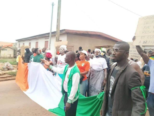 Les marches suspendues en Côte d'Ivoire du 2 au 15 novembre 2020