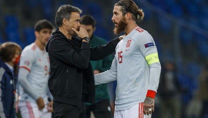 Ligue des Nations: après les deux penalties manqués de Ramos, Luis Enrique brise le silence