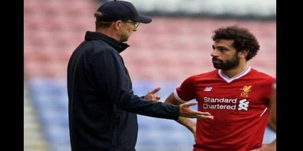 Liverpool : remplacé par Sadio Mané, Mohamed Salah très furieux contre Jürgen Klopp