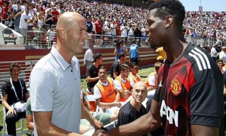 Manchester United : Pogba prêt à tout pour rejoindre Zidane au Real Madrid