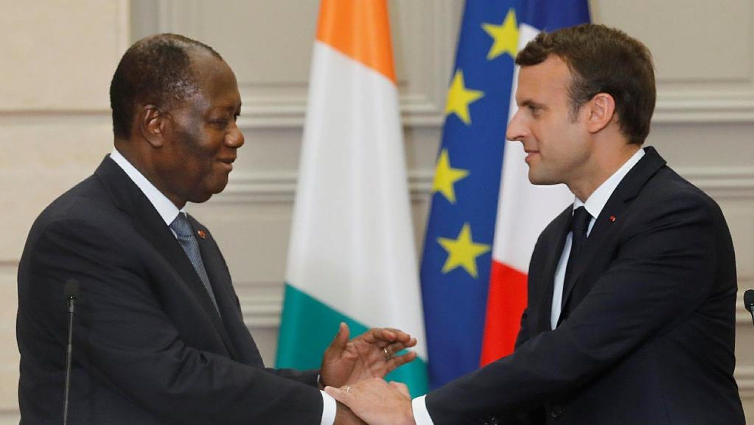 Marcon : « Ouattara est parfaitement conscient des tensions actuelles qui ont causé la mort de plus de 80 personnes »