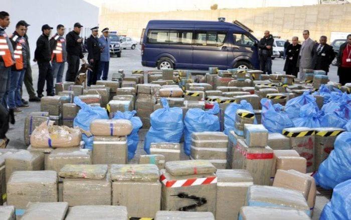 Maroc : saisie de près de 2,5 tonnes de cannabis à Al Hoceima