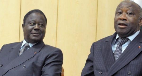 Message politique à Laurent Gbagbo/ Bédié reconnait désormais Affi comme président du FPI