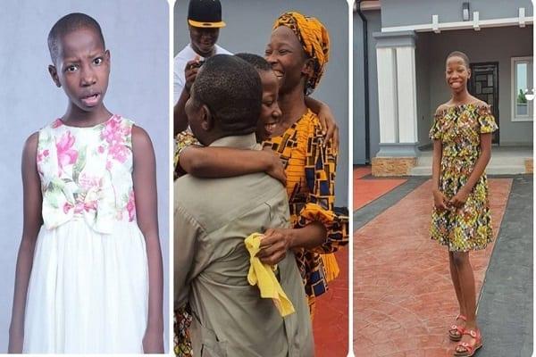 Nigeria: la comédienne Emmanuella, 10 ans, offre une maison à sa mère (photos)