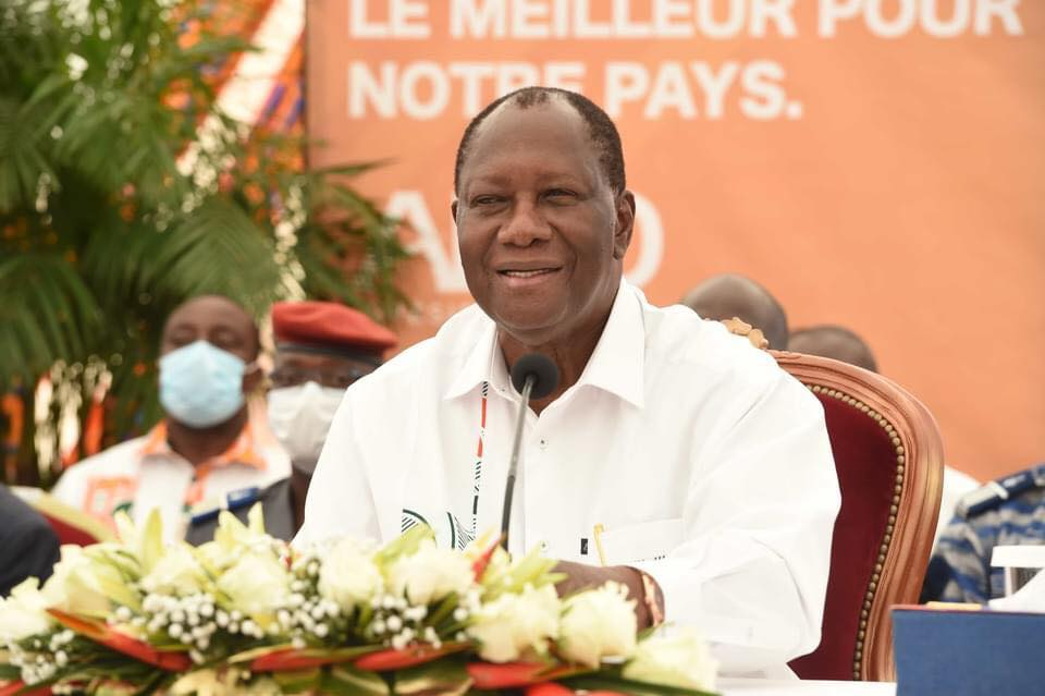 Ouattara vainqueur de la présidentielle 2020 avec 96,01%