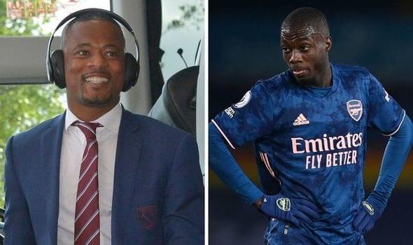 """Patrice Evra détruit Nicolas Pépé : """"C'est vraiment idiot de sa part…"""""""
