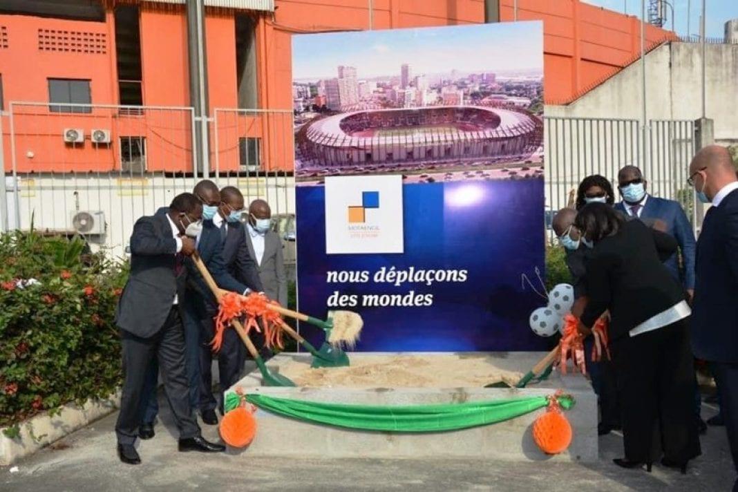 Plus de 65 milliards F CFA pour la rénovation du Stade Félix Houphouet Boigny