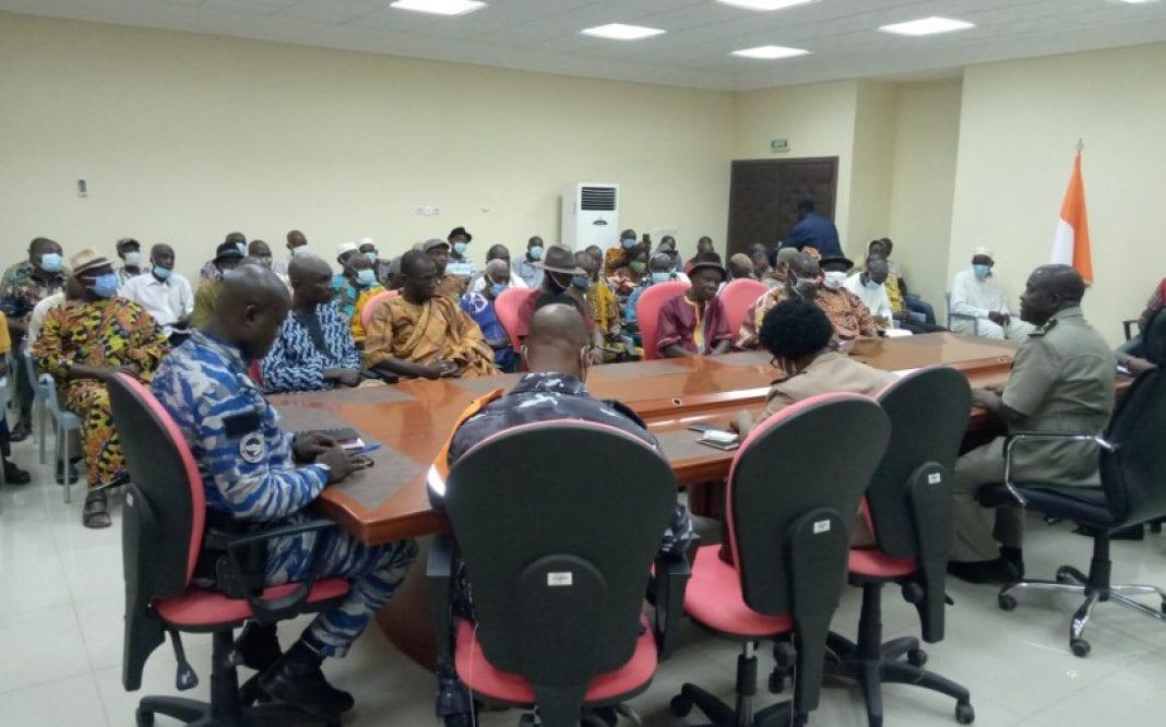 Post-électorale à Adzopé : le préfet exhorte la population à éviter la violence