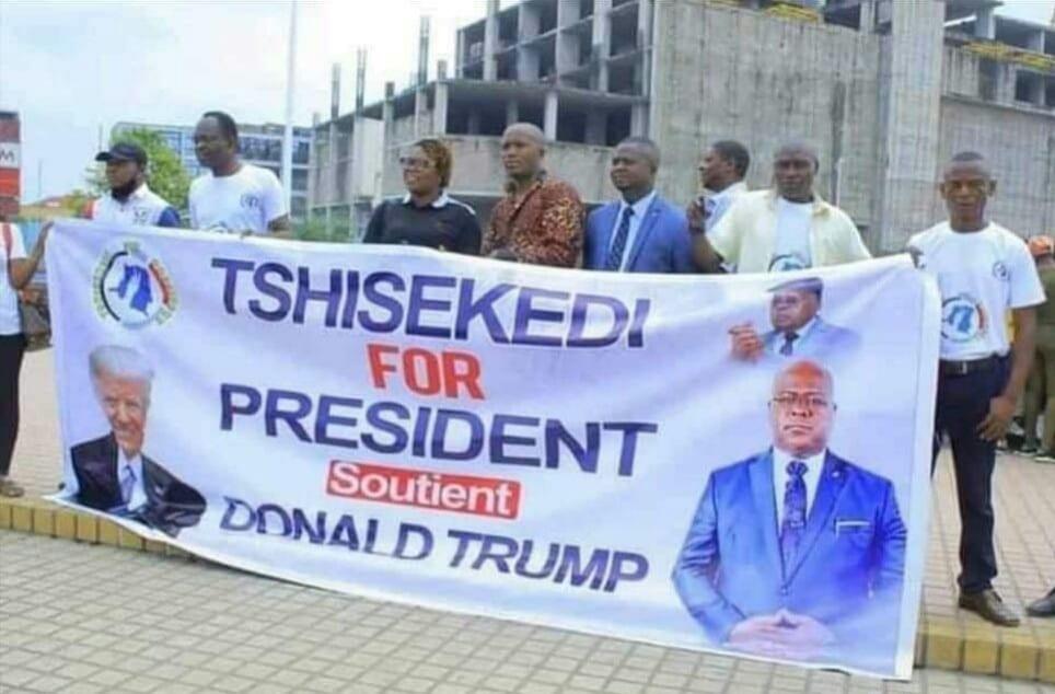 RDC : le président Félix Tshisekedi soutient-il Donald Trump ?