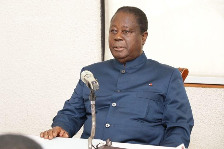 Côte d'Ivoire : séance de travail du président Henri Konan Bédié