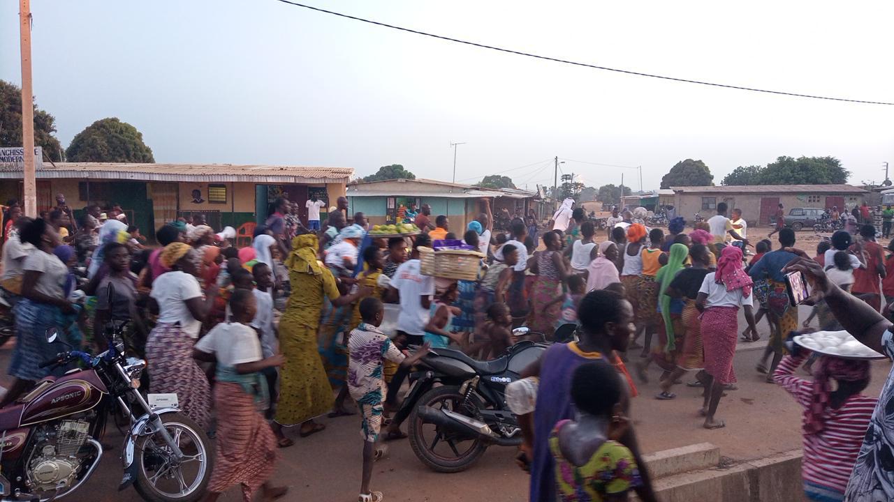 RHDP de Madinani : une célébration pour la victoire de Ouattara