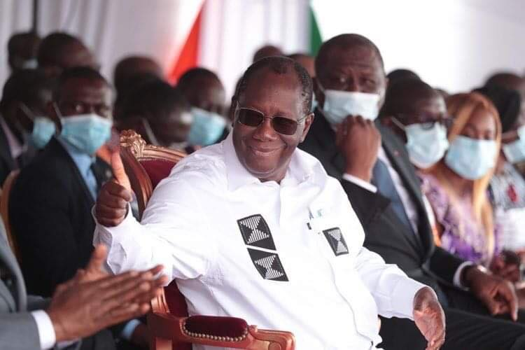 Résultats provisoires de la présidentielle ivoirienne 2020: Ouattara largement en tête
