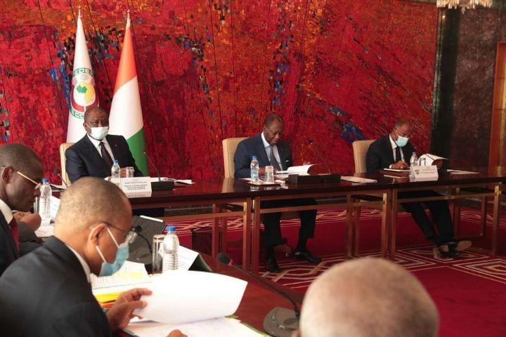 Réunion du Conseil National de Sécurité (CNS) sous la Présidence du Chef de l'Etat