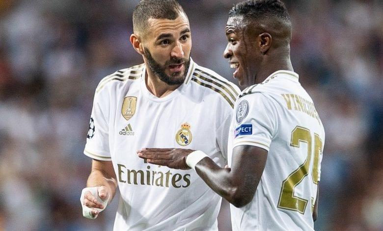 """Real Madrid/Vinicius : """"J'ai une bonne relation avec Benzema"""""""
