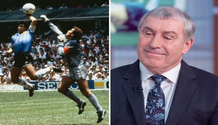Décès de Maradona : le gardien de but anglais refuse de le pardonner pour sa célèbre « Main de Dieu » en 1986