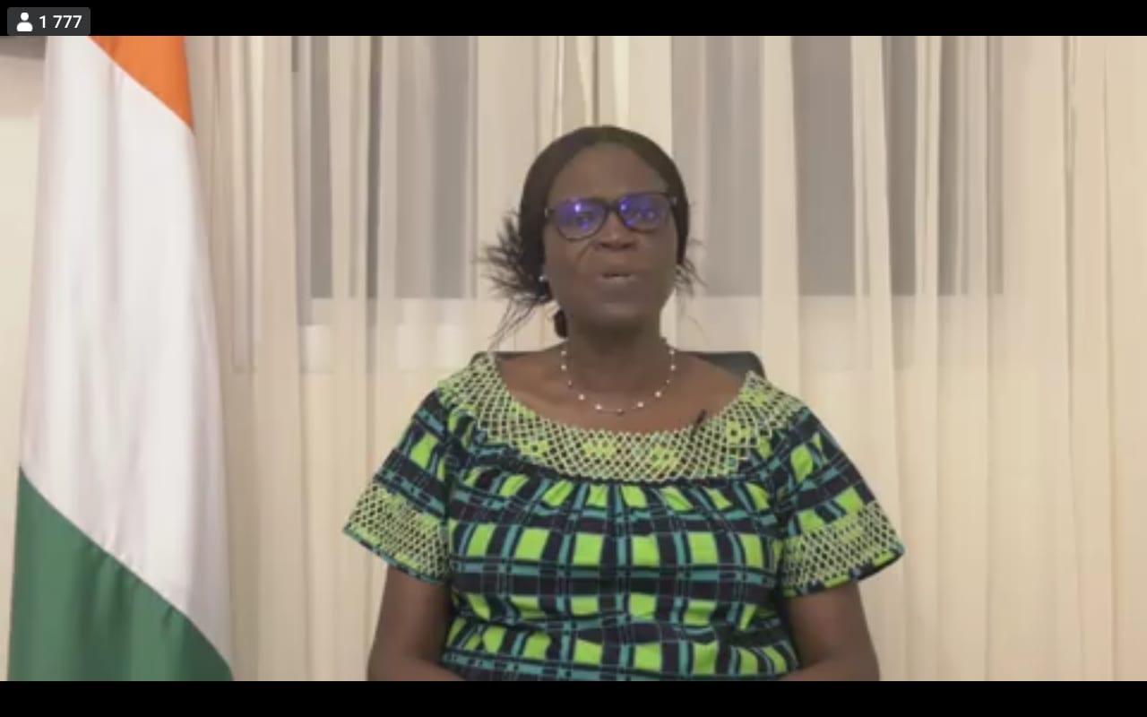 Simone Gbagbo » Il n'y a pas eu d'élection en Côte d'Ivoire (…) il faut un gouvernement de transition »