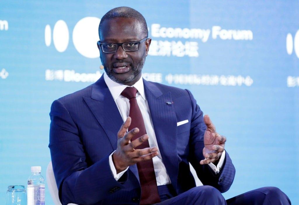 Tidjane Thiam est le nouveau patron de Rwanda finance limited