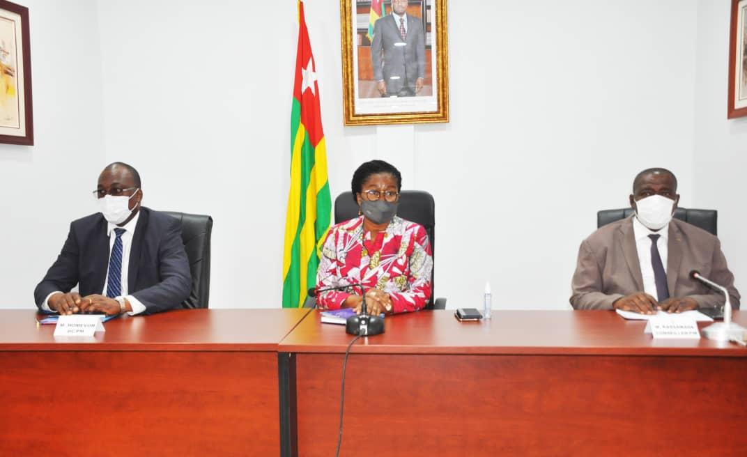 Togo : Des femmes du secteur privé et du Grand marché de Lomé encouragent Mme le Premier Ministre