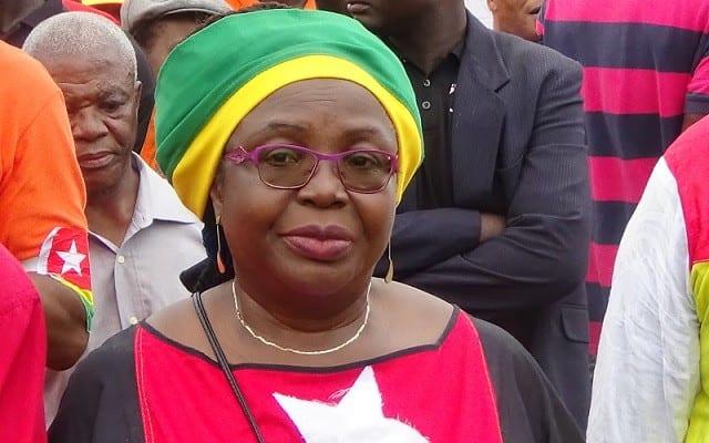 Togo : Mme Brigitte Adjamagbo est arrêtée