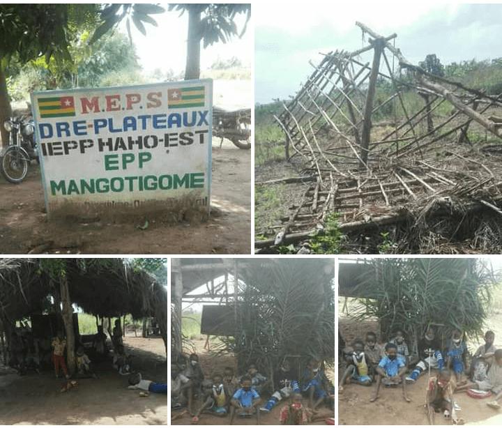 Togo : les pitoyables images de l'EPP Mangotigomè