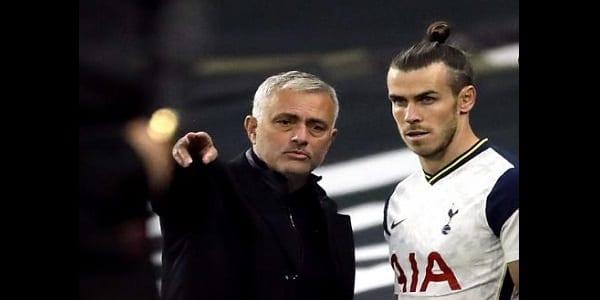 Tottenham : Mourinho prend position sur l'avenir de Gareth Bale chez les spurs