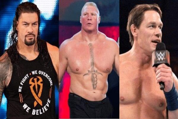 Voici les catcheurs les mieux payés de la WWE, John Cena occupe la deuxième place