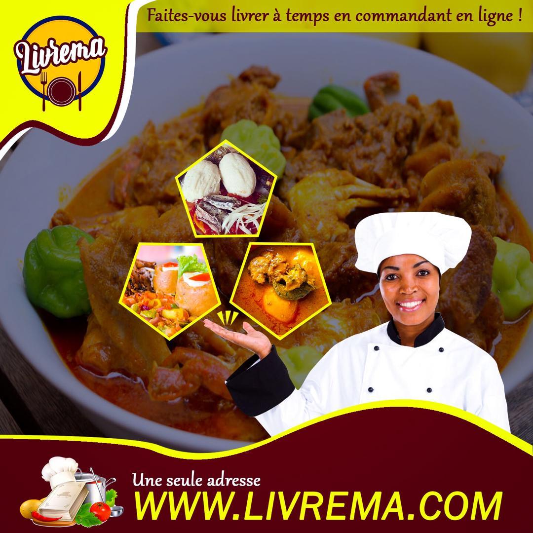 Commandez sur Livrema.com et faites vous livrez dans tout Dakar des plats authentiques