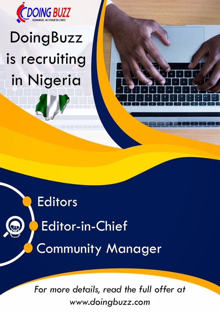 Doingbuzz.com is recruiting for multiple positions in Nigeria