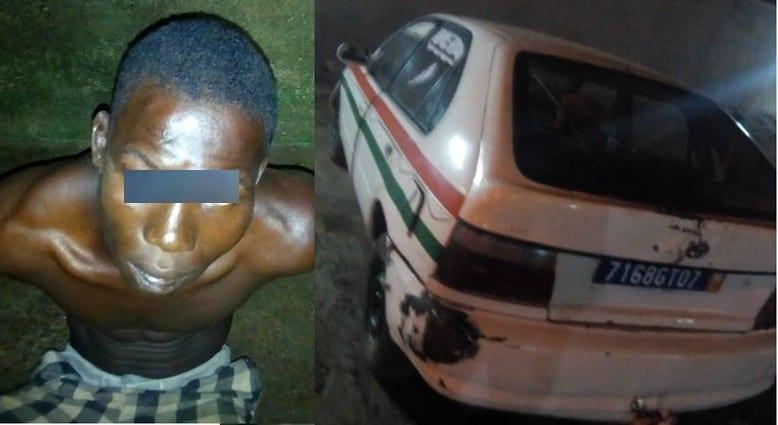 Yopougon : un chauffeur de taxi aux arrêts pour meurtre