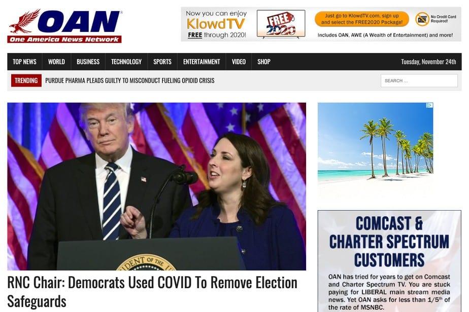 YouTube interdit à une chaîne pro-Trump de diffuser des vidéos