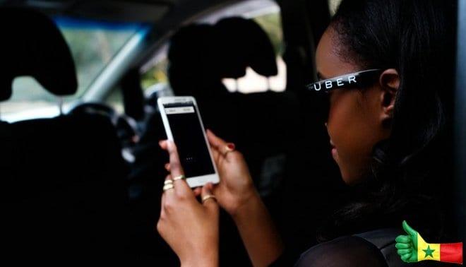 L'entreprise de transport Uber s'installe au Sénégal /Dakar