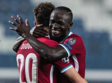 Ligue des champions : Liverpool sans pitié contre l'Atlanta, Sadio Mané buteur (Vidéo)