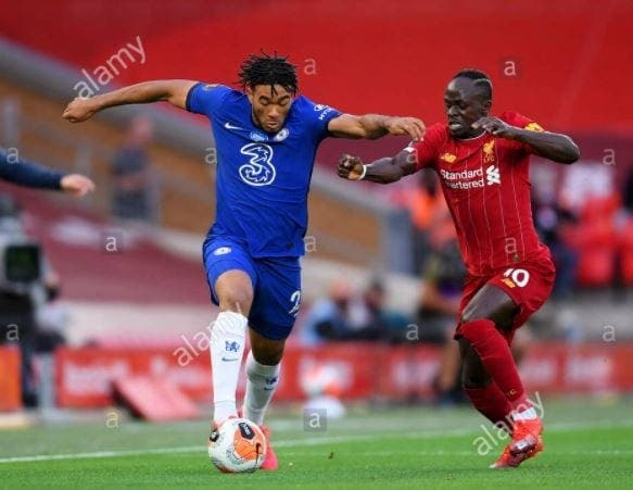 """James de Chelsea ne tarit pas d'éloges sur Sadio Mané : «C'est l'un des plus difficiles à affronter"""""""